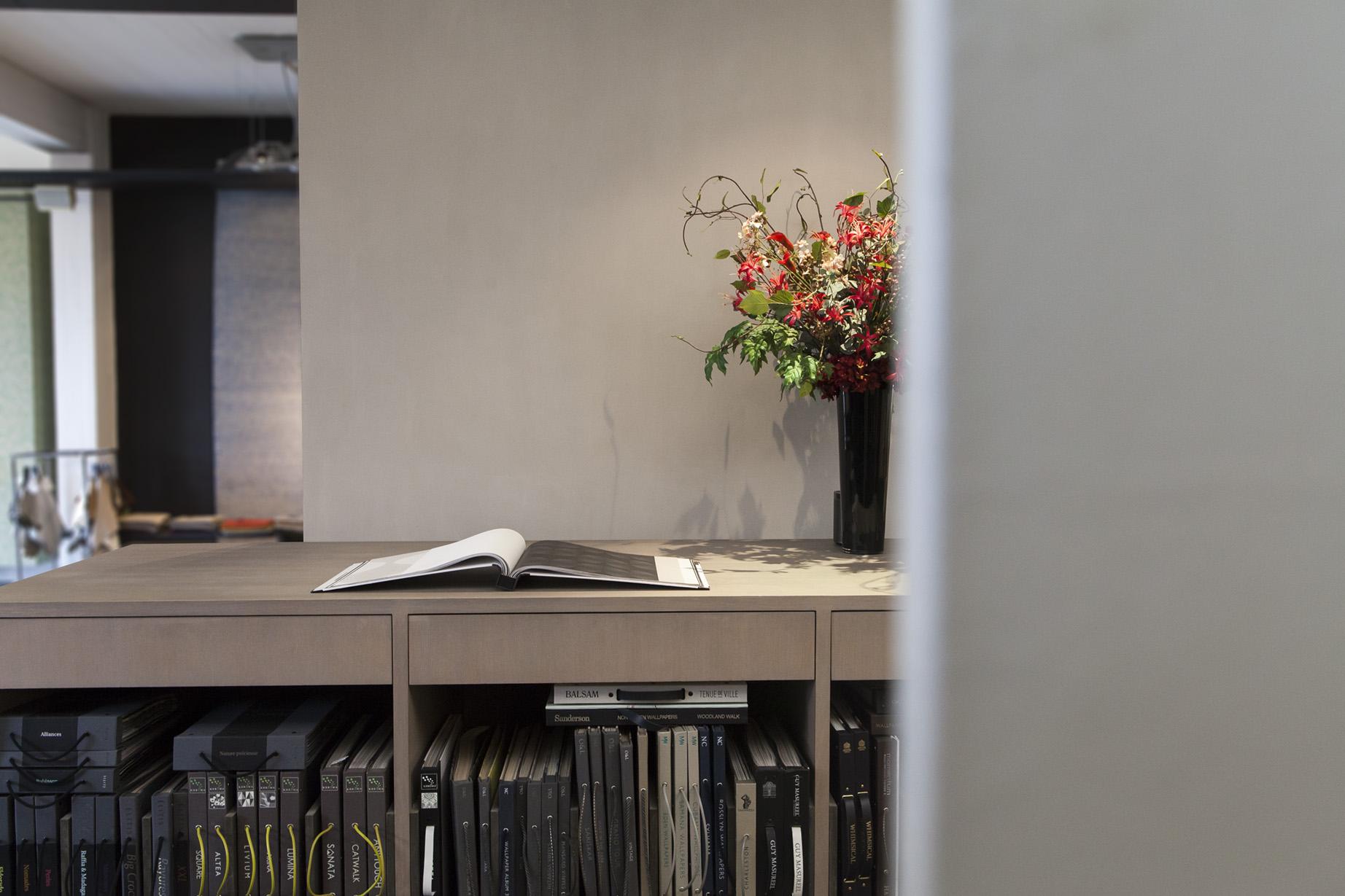 Bernaerts Schilderwerken showroom boek